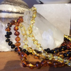 Amber Teething Necklaces - Natural Products at Gaia Natural Health