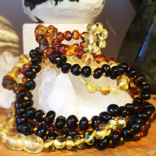 Amber Teething Necklaces - Natural Products at Gaia Natural Health