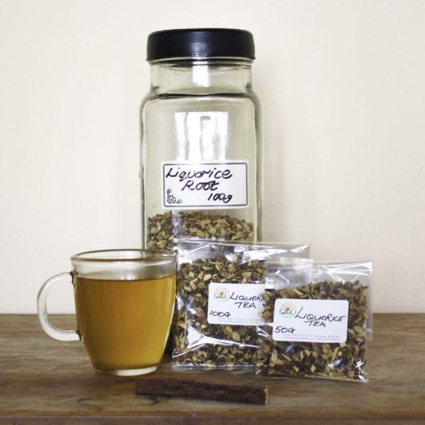 Gaia Natural Health Herbal Apothecary Liquorice Root