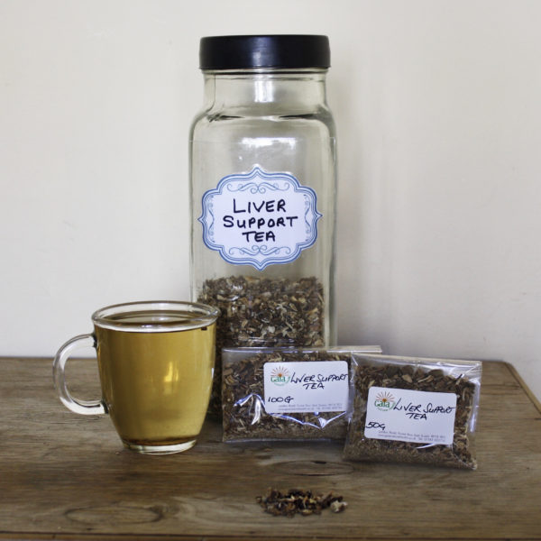 Gaia Natural Health Herbal Teas Liver Support