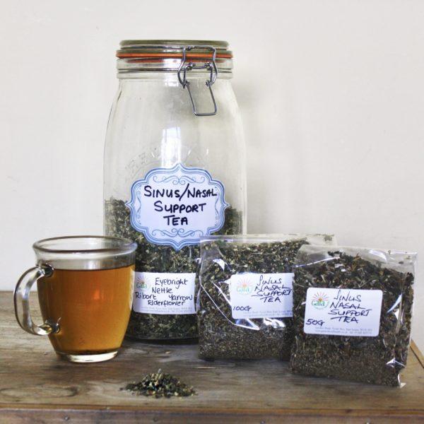 Gaia Natural Health Herbal Teas Sinus Support
