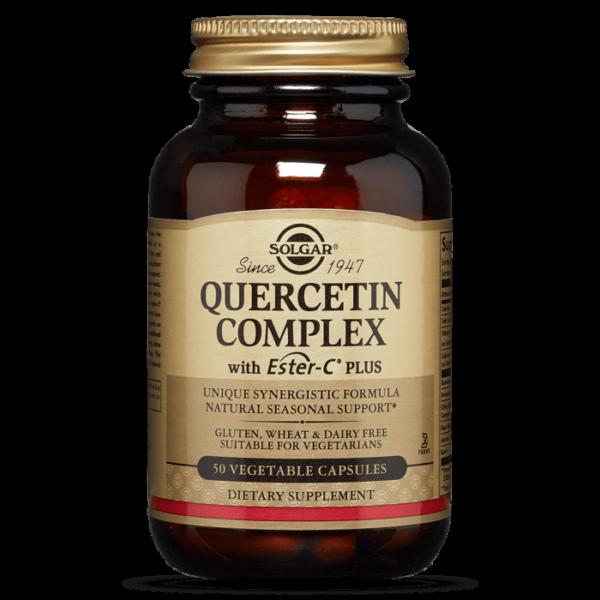 QUERCETIN COMPLEX WITH ESTER-C® PLUS VEGETABLE CAPSULES