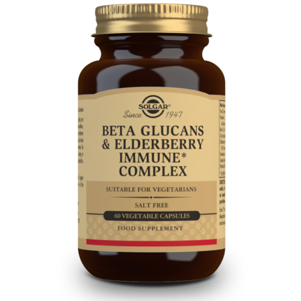 Solgar Beta Glucans & Elderberry Immune Complex